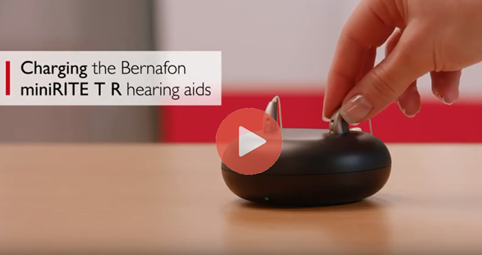 Bernafon Hearing Aid with LIthium Battery