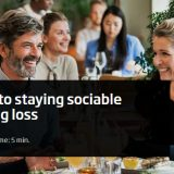 Guide to staying social with a hearing loss by Oticon Global.
