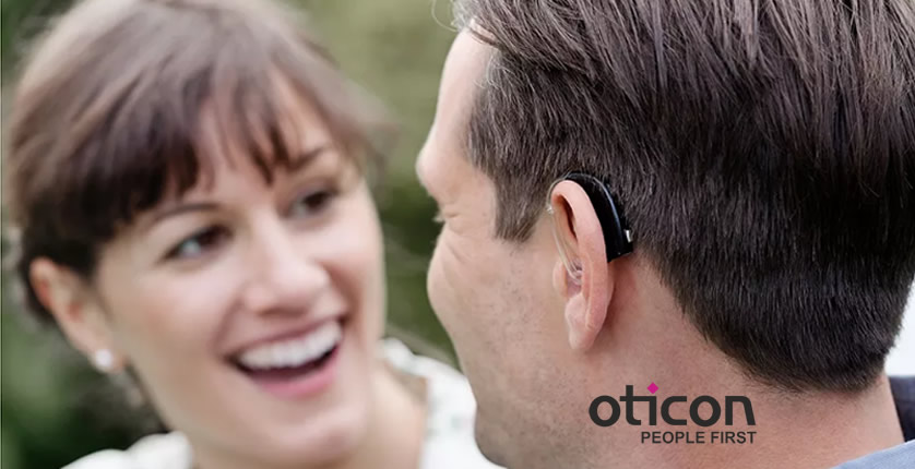 Oticon Hearing aids - available from Frontenac Hearing Clinic in Kingston, Ontario