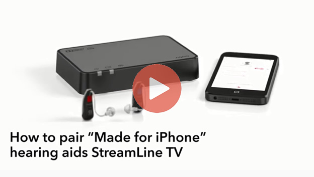 How to pair hearing aids with StreamLineTV