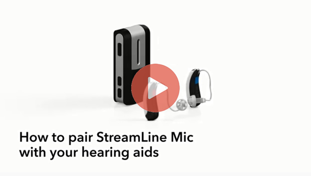 How to Pair StreamLIne with Hearing Aids Video