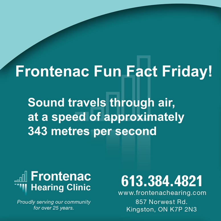 Frontenac Hearing Clinic Fun Fact Friday!