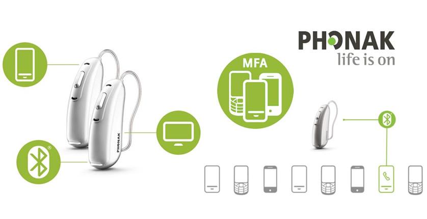 Phonak Hearing Aids available at Frontenac Hearing Clinic, Kingston Ontario