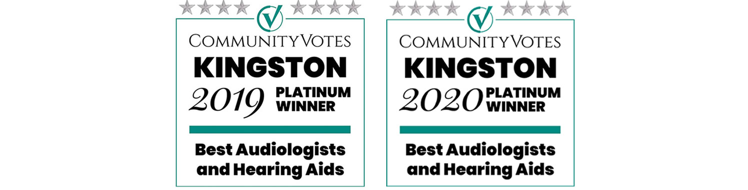 Frontenac Hearing Clinic - Voted Best Audiologists and Hearing Aids by Kingston Community Votes 2019 and 2020.